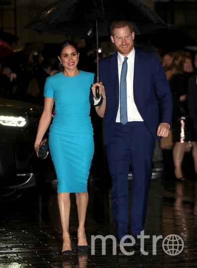 Меган Маркл и принц Гарри впервые приехали в Британию после Мегзита. Фото Getty