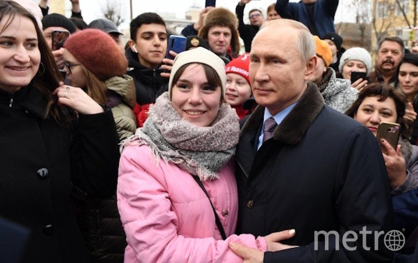 Жительница Иваново попросила Путина взять её замуж. Фото РИА Новости