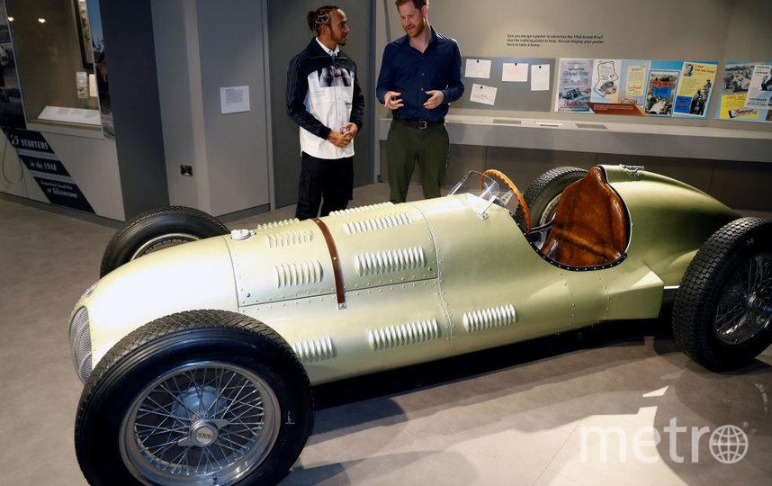 На открытии музея в Сильверстоун. Фото Getty