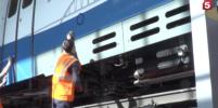 Первый рельсовый автобус прошел по Крымскому мосту 7 марта: видео