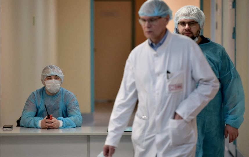 """Боткинская больница в Петербурге. Фото """"Metro"""""""