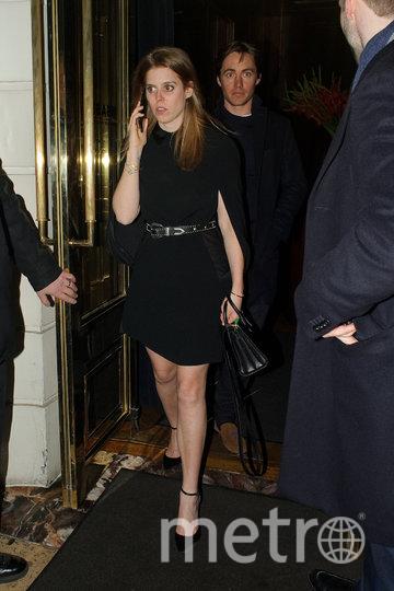 Принцесса Беатрис покидала клуб ночью. Фото Getty
