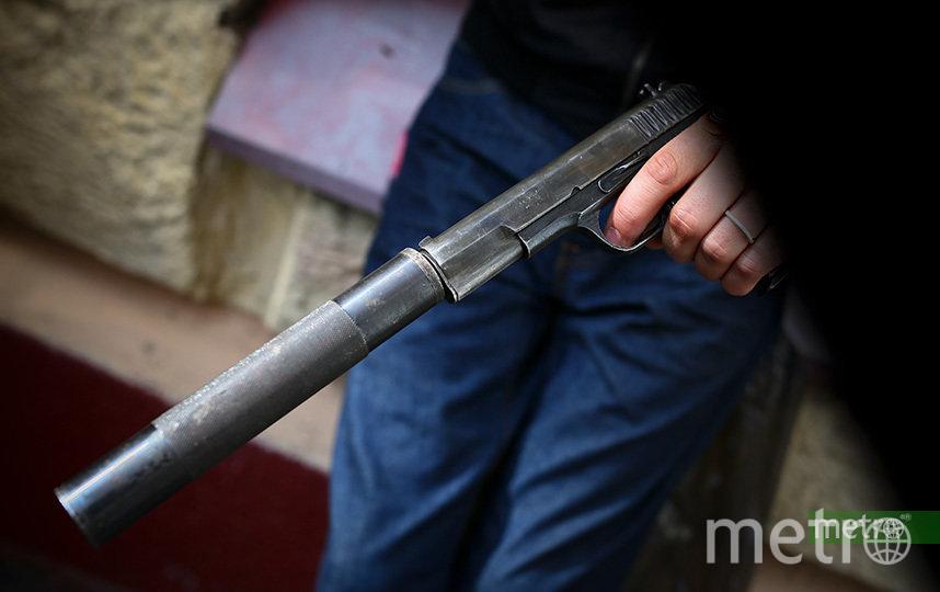 В московском баре задержали бездомного за стрельбу из пневматического оружия. Архивное фото. Фото Василий Кузьмичёнок