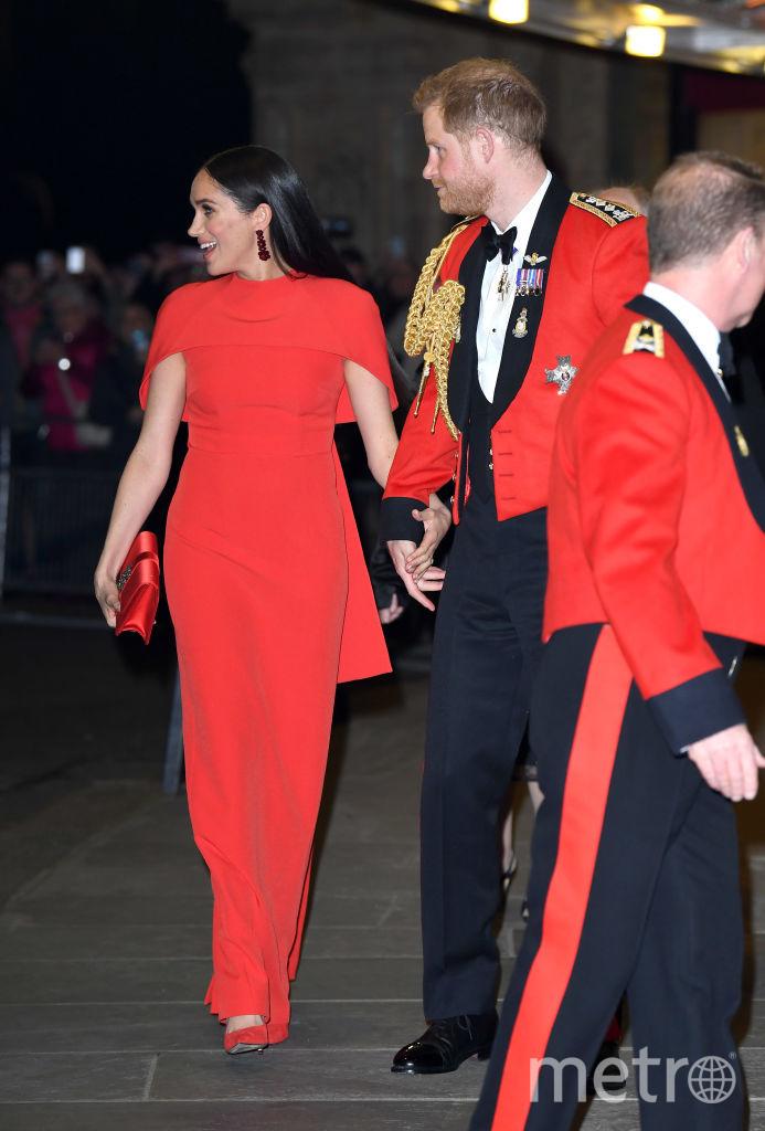 Меган Маркл и принц Гарри на музыкальном фестивале в Королевском Альберт-Холле. Фото Getty