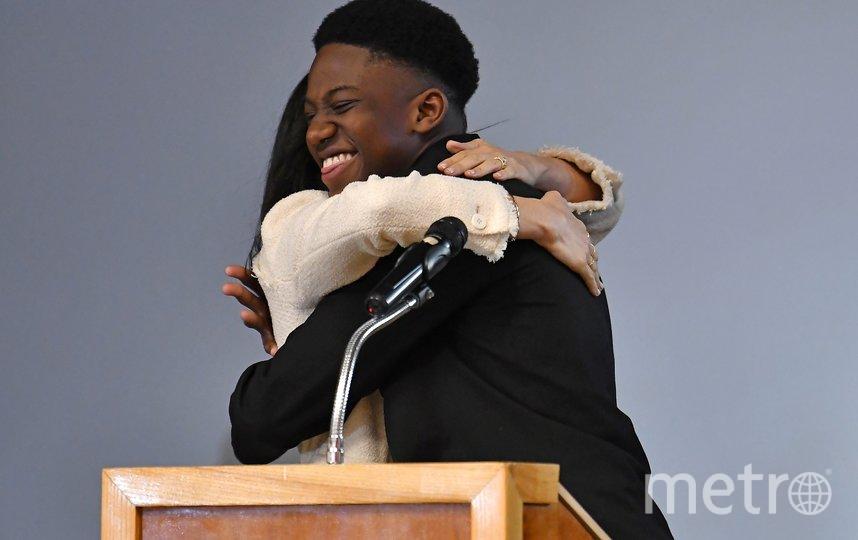 Меган Маркл и Экер Окойе. Фото AFP