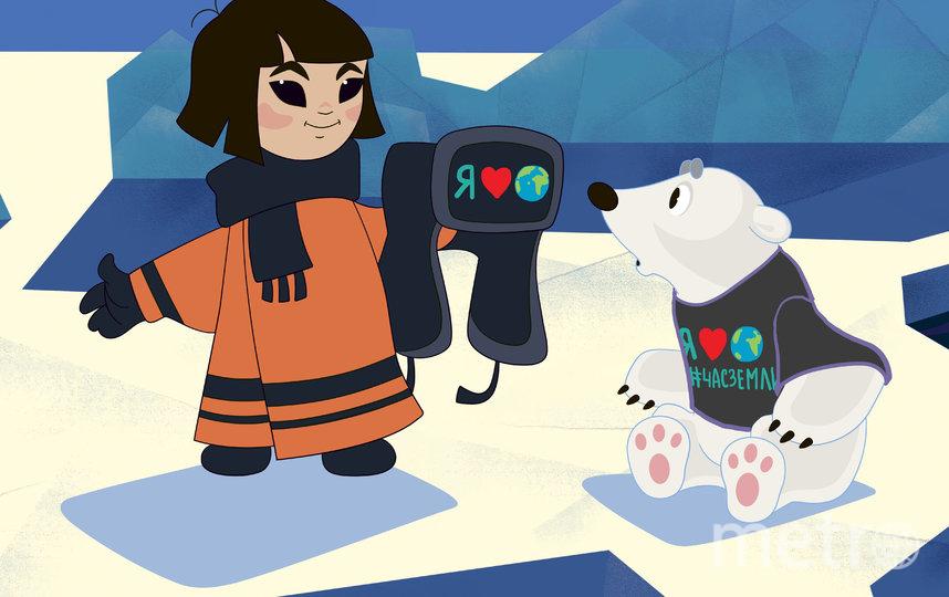 Пример заботливого отношения к природе демонстрируют любимые всеми герои. Фото предоставлено WWF России