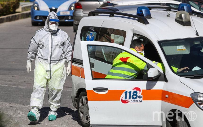 Число инфицированных в Италии сейчас составляет 9172 человек. Фото Getty