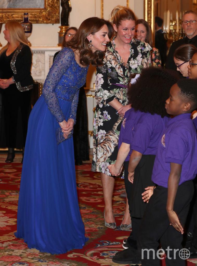 Кейт Миддлтон на приеме в Букингемском дворце. Фото Getty