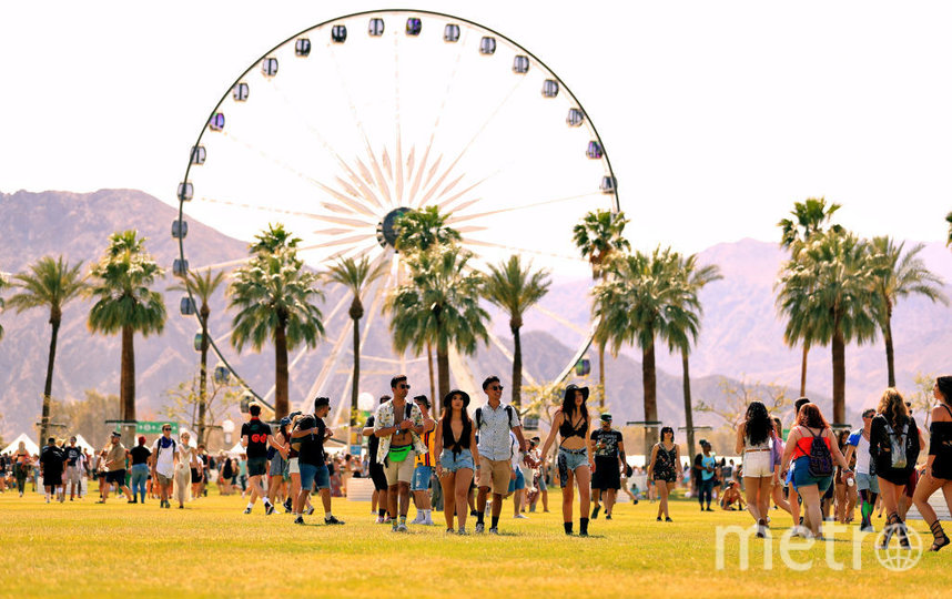 Coachella. Фото Getty