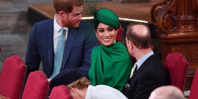 Принц Гарри и Меган Маркл больше всего общались с принцем Эдвардом.