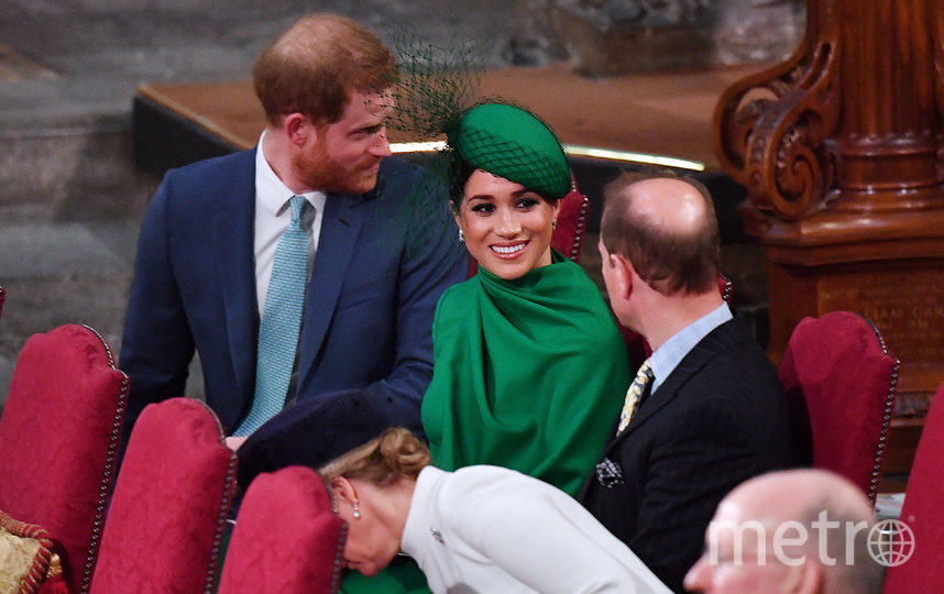 Принц Гарри и Меган Маркл больше всего общались с принцем Эдвардом. Фото Getty