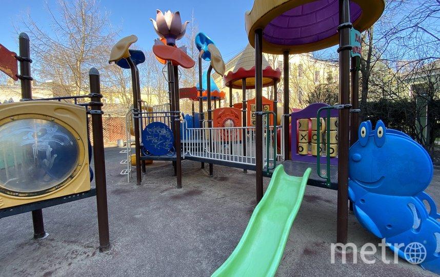 Детская площадка на Невском, 88. Фото mytndvor, vk.com