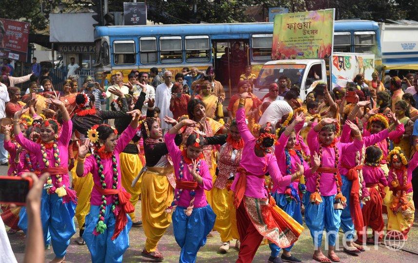 В Индии отмечают праздник Холи. Фото Getty
