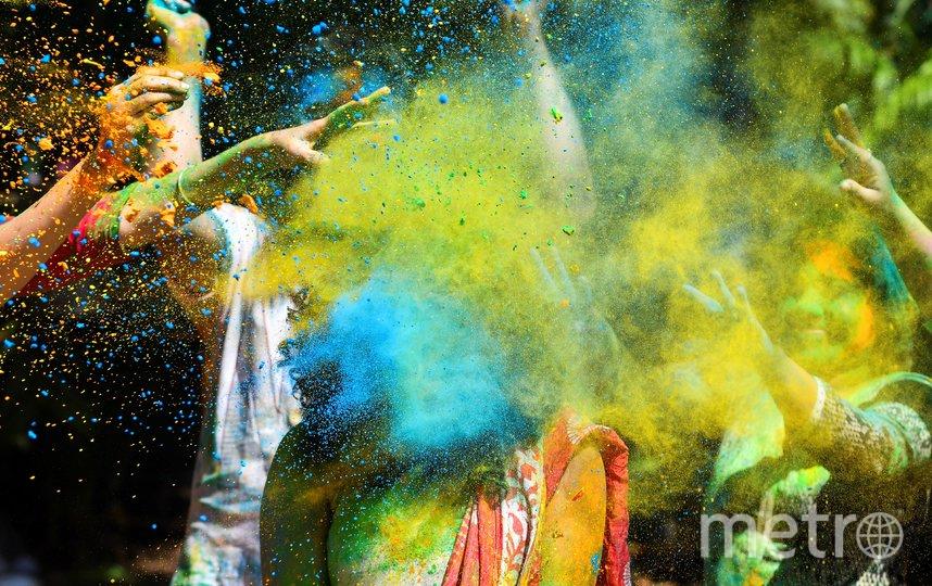 В Индии отмечают праздник Холи. Фото AFP