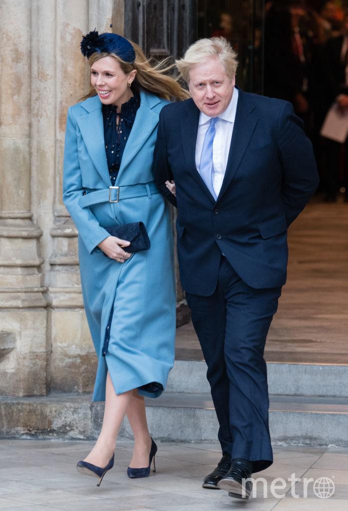 Борис Джонсон и Кэрри Симондс. Фото Getty