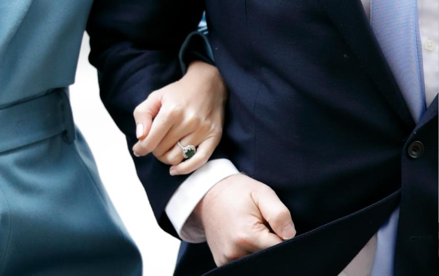 Кольцо Кэрри Симондс. Фото Getty
