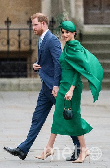 Меган Маркл с принцем Гарри. Фото Getty