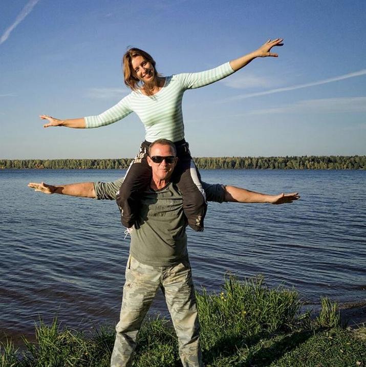 Виктор Рыбин и Наталья Сенчукова. Фото Скриншот Instagram: @nsenchukova_official