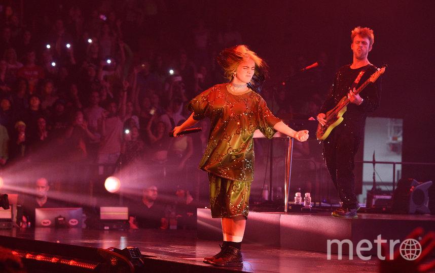Билли Айлиш, концерт в Майами. Фото Getty