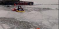 Появились подробности и фото спасения ребёнка, провалившегося под лёд в Приозерске