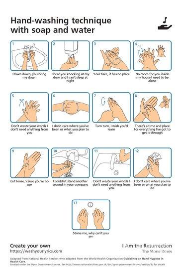 "Техника мытья рук. Фото ""Metro"""