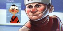Культовые персонажи советских мультфильмов повзрослели в работах томского художника