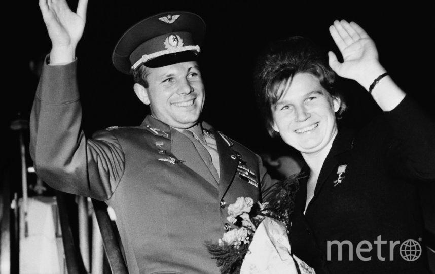 Валентина Терешкова с Юрием Гагариным, 1965-й год. Фото Getty
