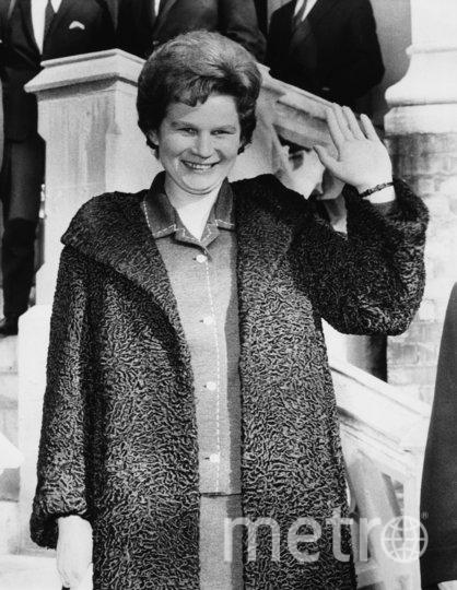 Валентина Терешкова в российском посольстве в Лондоне, 1964-й год. Фото Getty