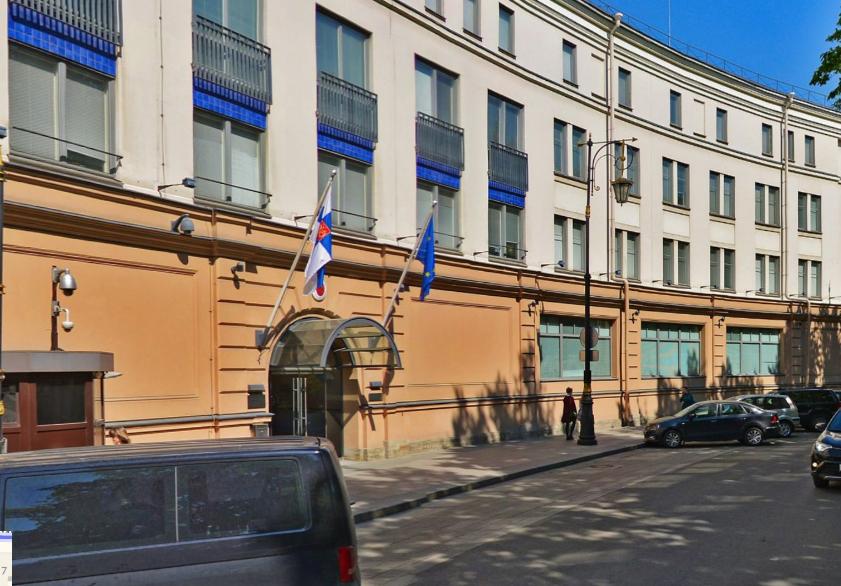 Консульство Финляндии в Петербурге. Фото скриншот Яндекс.Панорамы