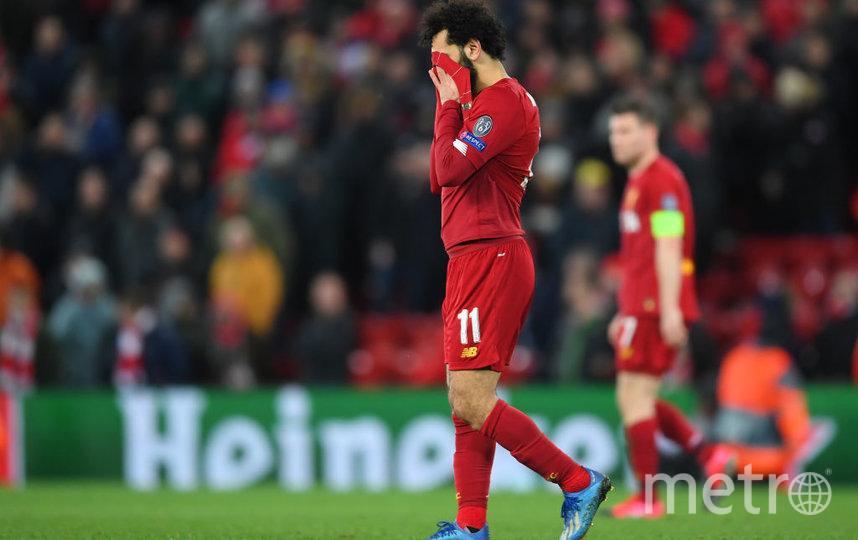 """""""Ливерпулю"""" не помогла магия домашнего стадиона """"Энфилд"""". Фото Getty"""