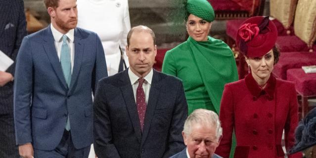 Меган Маркл во время последнего выхода в качестве члена королевской семьи.