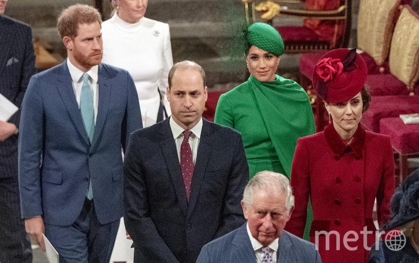 Меган Маркл во время последнего выхода в качестве члена королевской семьи. Фото Getty