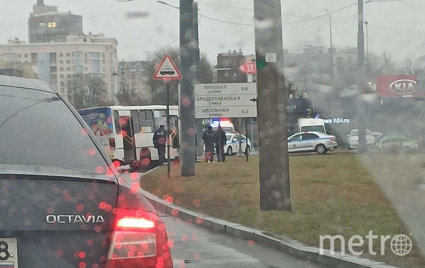 Фото с места происшествия. Фото spb_today, vk.com