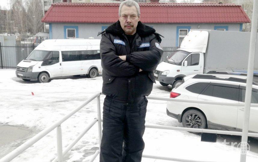 У Сергея на лице родимое пятно. Фото http://hornews.com