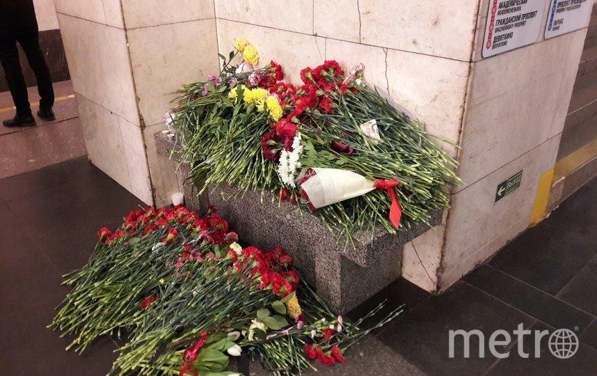 """В Петербурге появится мемориальная табличка в память жертв теракта в метро. Фото """"Metro"""""""