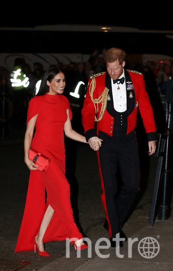 Принц Гарри и Меган Маркл на музыкальном фестивале в Королевском Альберт-Холле. Фото AFP