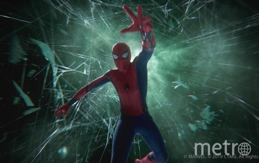 """Кадр из фильма """"Человек-паук: Вдали от дома"""". Фото """"WDSSPR"""", kinopoisk.ru"""