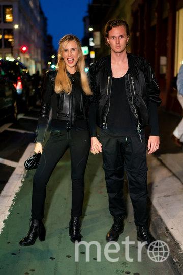 Баррон Хилтон с супругой. Фото Getty