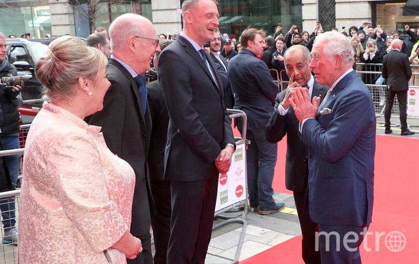 Принц Чарльз на благотворительном вечере в Лондоне. Фото Getty