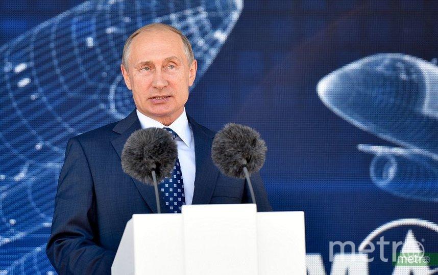 Президент России Владимир Путин. Фото Василий Кузьмичёнок