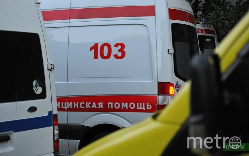В Петербурге три человека пострадали в ДТП со скорой помощью. Фото Василий Кузьмичёнок