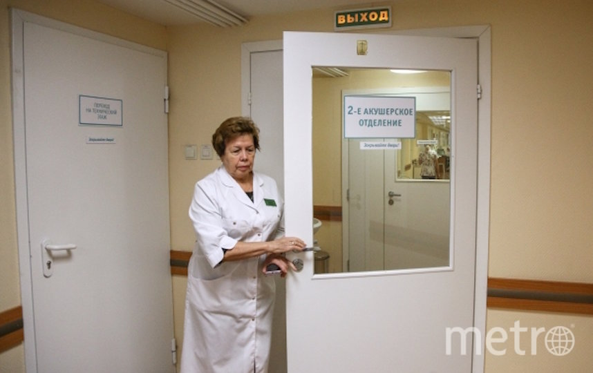 Коллектив московского роддома №8 предложил помочь в борьбе с коронавирусом. Фото РИА Новости