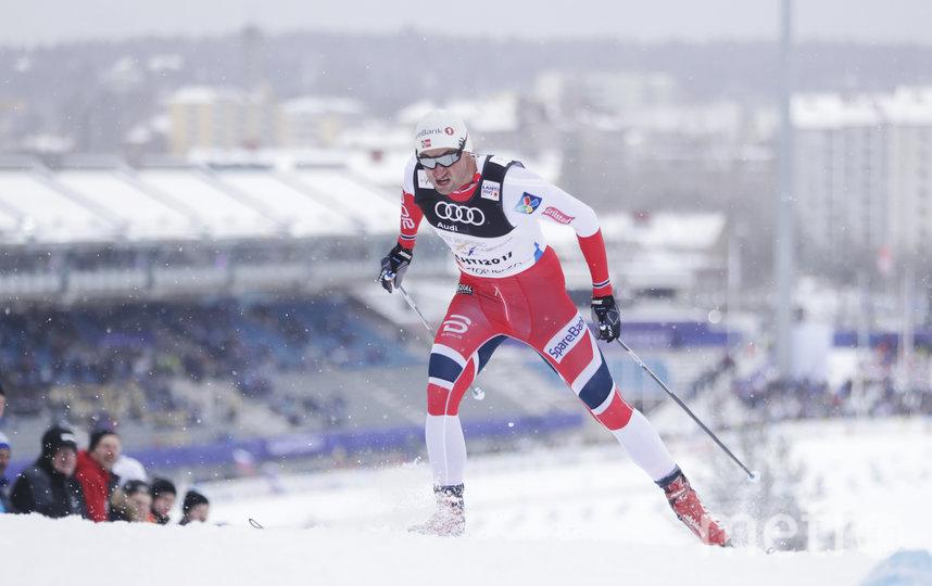Норвежский лыжник Петтер Нортуг. Фото Getty