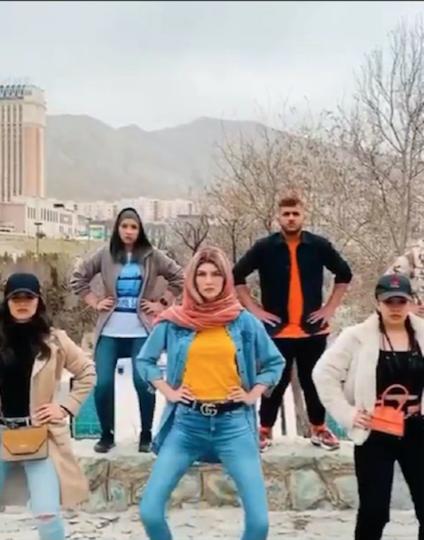 Присоединилась даже иранская молодёжь из Тегерана. Фото instagram @ftmeamirii