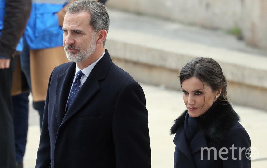 Король Испании Филипп VI с супругой Летицией. Фото AFP