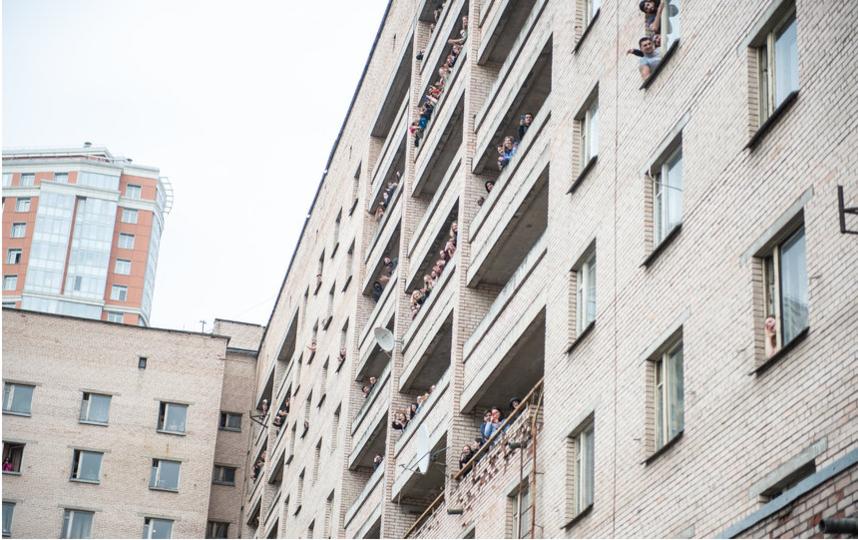 """Студенты, оказавшиеся на карантине. Фото """"Metro"""""""