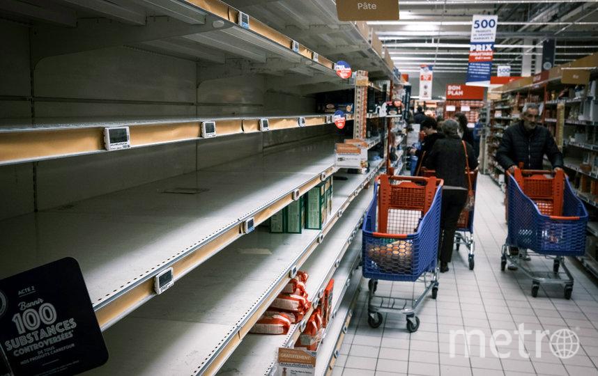 Магазин в коммуне Живор, Франция. Фото AFP