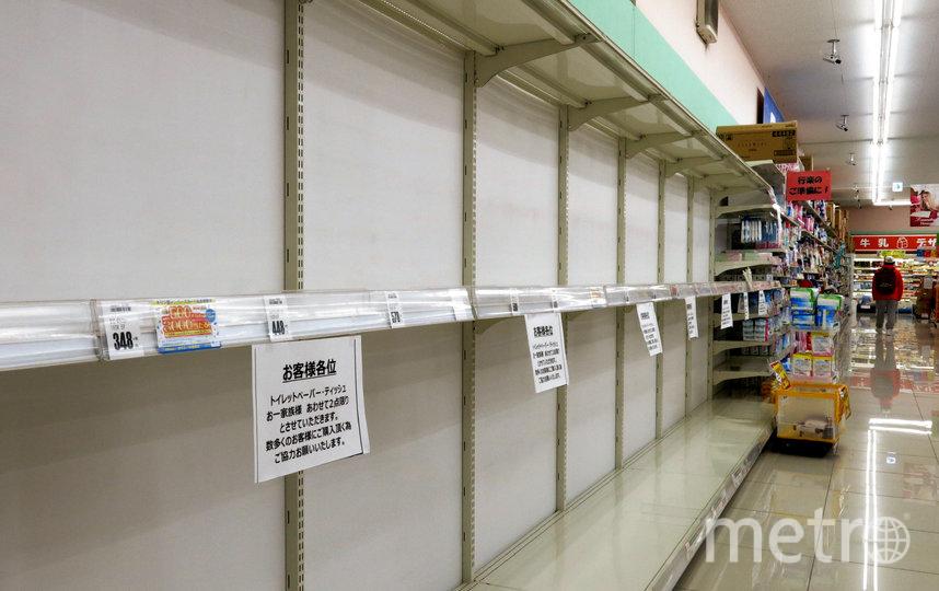 Полки в магазине Токио, Япония. Фото Getty
