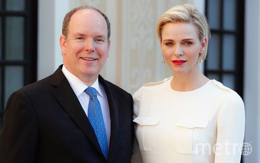 Принц Альбер с супругой Шарлен. Фото Getty