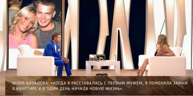 Юлия Началова о первом муже в программе Бориса Корчевникова.